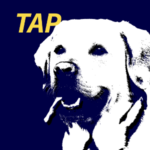 Cover of Dog Man TAP ebook for teens with dyslexia
