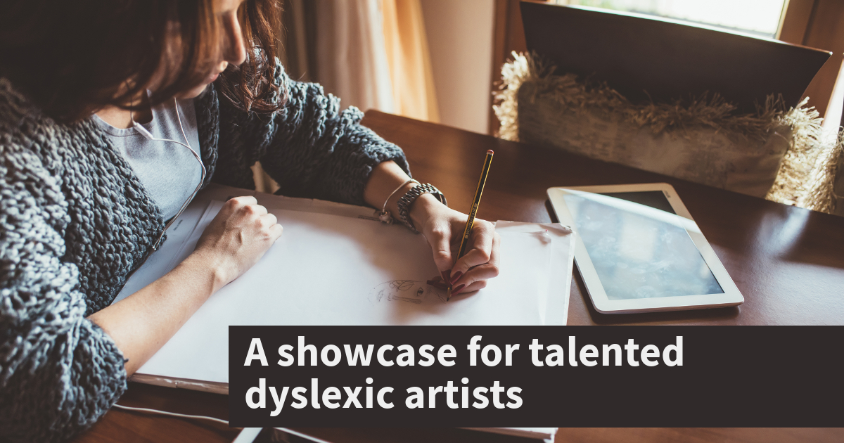TAP Library app to become a showcase for talented dyslexic artists